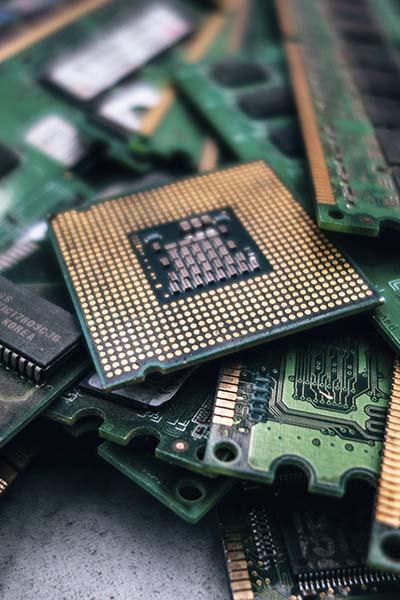 Reciclaje de equipos electrónicos