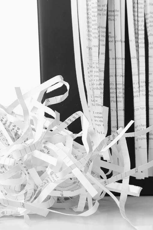 destruccion de papel
