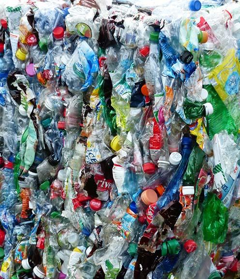 Retirada de plástico