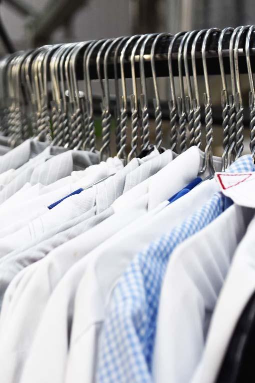 Destrucción de ropa laboral
